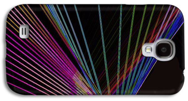 Laser Abstract Galaxy S4 Case by Art Spectrum