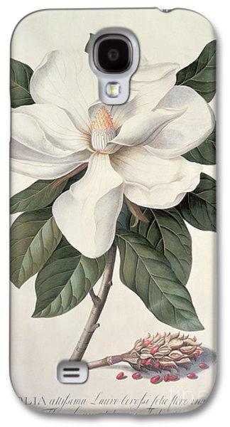 Botanical Galaxy S4 Cases -  Magnolia Galaxy S4 Case by Georg Dionysius Ehret