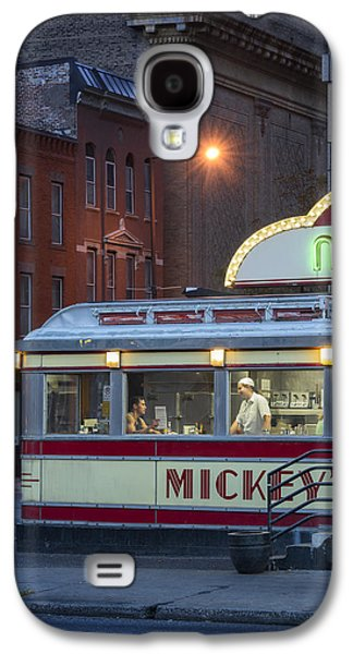 Dreamscape Galaxy S4 Cases -  Mickeys Diner Galaxy S4 Case by Christian Heeb
