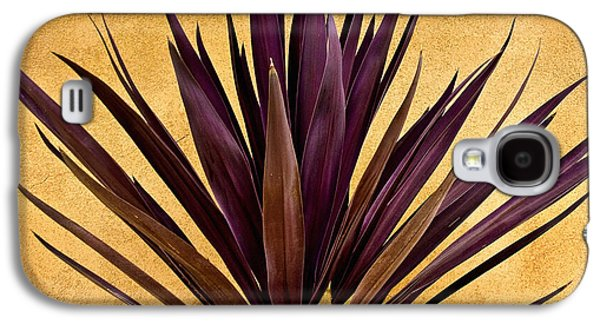Purple Giant Dracaena Santa Fe Galaxy S4 Case by John Hansen