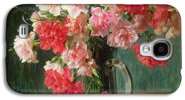 Still Life Of Carnations   Galaxy S4 Case by Emile Vernon