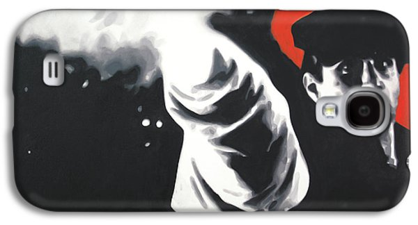 Boss Paintings Galaxy S4 Cases - - The Godfather - Galaxy S4 Case by Luis Ludzska