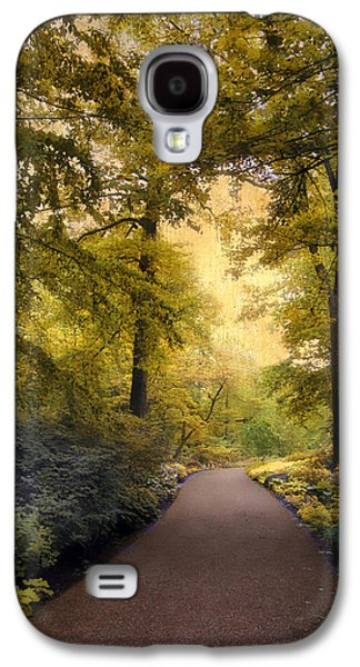 The Golden Walkway Galaxy S4 Case by Jessica Jenney