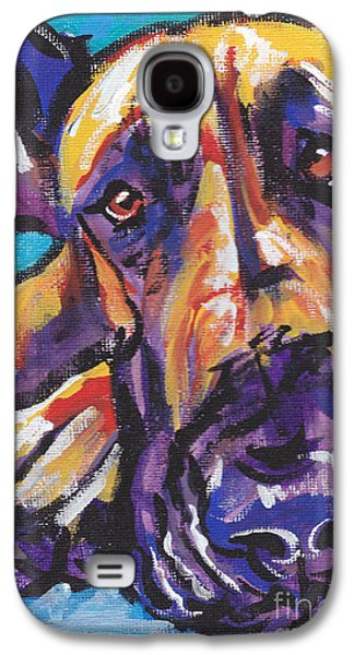 Puppies Galaxy S4 Cases -  The Great Danish Galaxy S4 Case by Lea