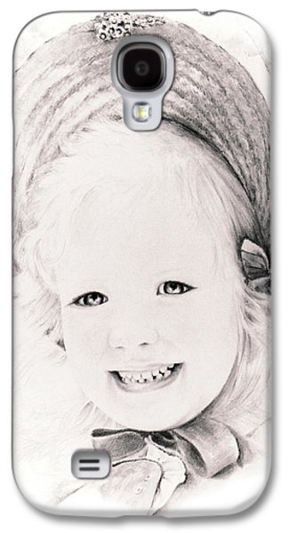 20th Drawings Galaxy S4 Cases -   Trudy Galaxy S4 Case by Rachel Christine Nowicki
