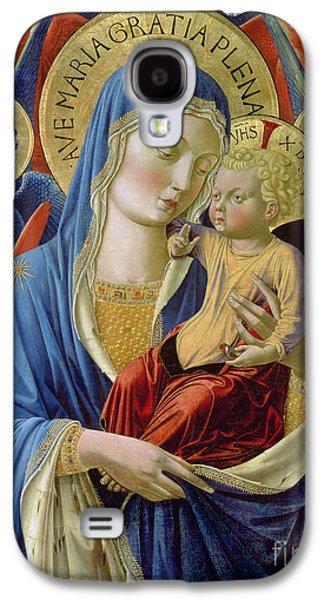 Virgin And Child With Angels Galaxy S4 Case by Benozzo di Lese di Sandro Gozzoli