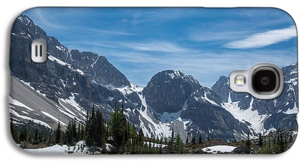 Canadian Pyrography Galaxy S4 Cases - Mountains #17 Galaxy S4 Case by Olga Photography