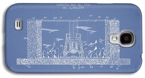 Aquarium Fish Galaxy S4 Cases - 1932 Aquarium Patent - Vintage Galaxy S4 Case by Aged Pixel