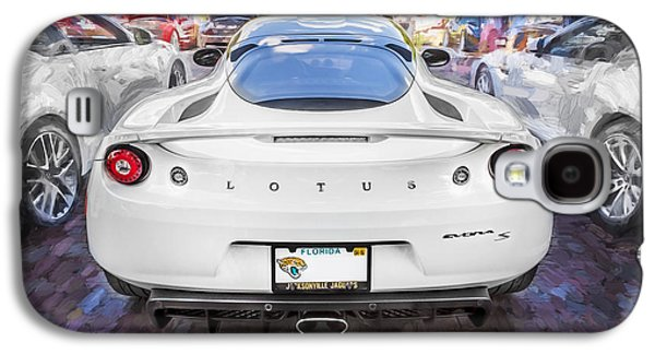 Recently Sold -  - Concept Photographs Galaxy S4 Cases - 2014 Lotus Evora Coupe Painted  Galaxy S4 Case by Rich Franco