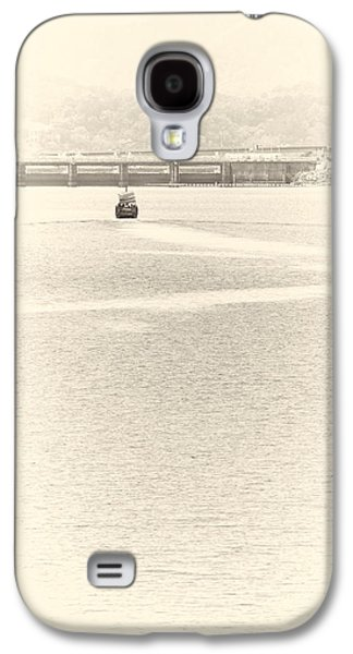 Best Sailing Photos Galaxy S4 Cases - A Boat Sailing Galaxy S4 Case by Raphael Ean