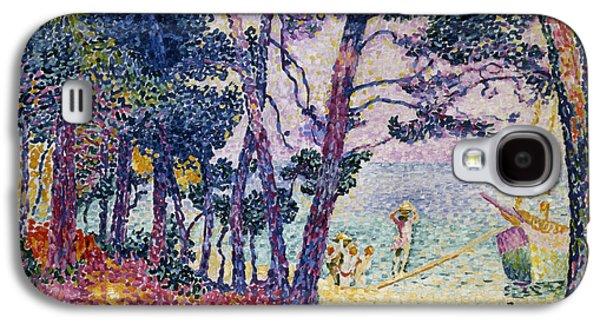 A Pine Grove Galaxy S4 Case by Henri-Edmond Cross