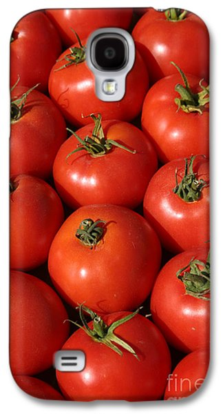 Michael Sweet Galaxy S4 Cases - A Trip Through The Farmers Market With Red Tomatoes Galaxy S4 Case by Michael Ledray