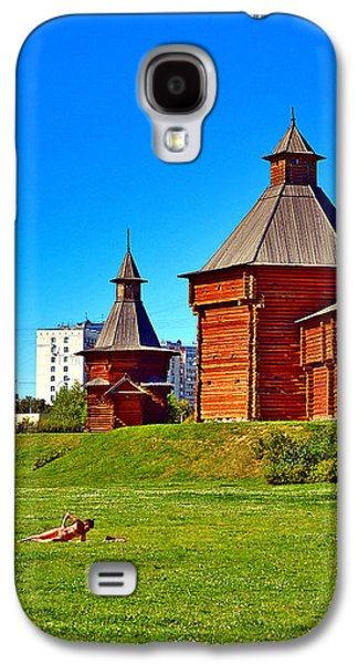 Ancient Galaxy S4 Cases - Abnormal Heat. Moscow. Relax. Galaxy S4 Case by Andy Za