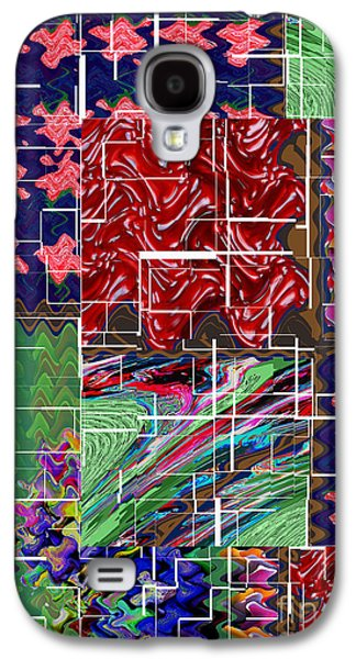 Abstract Digital Art Galaxy S4 Cases - Abstract art  Holy Grail Fruitopedia Please check out more signature graphics from Navin Joshi Galaxy S4 Case by Navin Joshi