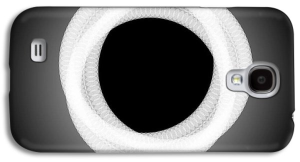 Abstract Digital Paintings Galaxy S4 Cases - ABSTRACT COMPOSITION - Perfect Eclipse  Galaxy S4 Case by Celestial Images