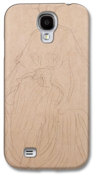 Loose Style Galaxy S4 Cases - Adele Bloch Bauer Galaxy S4 Case by Gustav Klimt