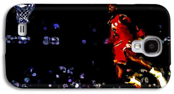 Air Jordan In Flight Iv Galaxy S4 Case by Brian Reaves