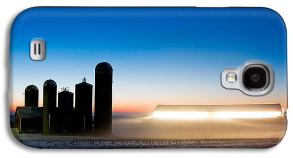 Alien Twilight Galaxy S4 Case by Todd Klassy
