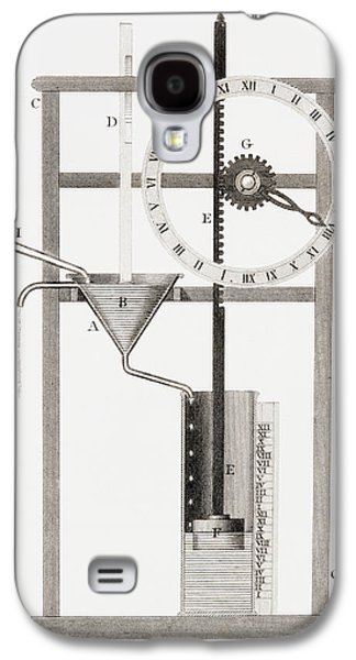 An Ancient Clepsydra Or Water Clock Galaxy S4 Case by Vintage Design Pics