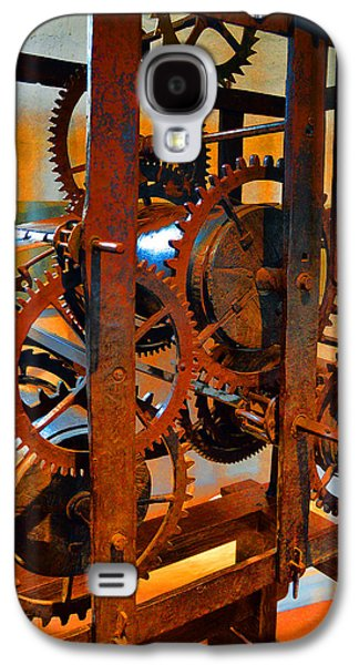Mechanism Galaxy S4 Cases - Ancient Clock Mechanism. Galaxy S4 Case by Andy Za