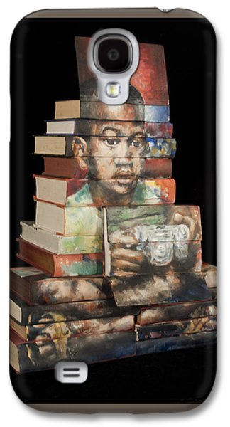 Still Life Sculptures Galaxy S4 Cases - Anything But Reading Galaxy S4 Case by Paul Michael Wright
