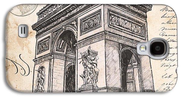 Arc De Triomphe Galaxy S4 Case by Debbie DeWitt