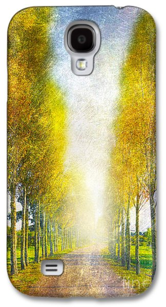Autumn Trees Galaxy S4 Case by Svetlana Sewell