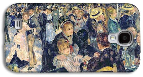 Ball At The Moulin De La Galette Galaxy S4 Case by Pierre Auguste Renoir