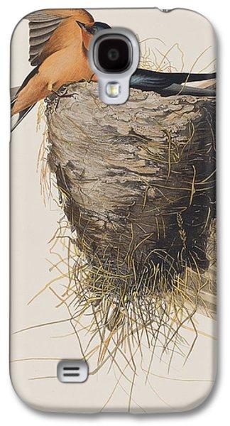 Swallow Galaxy S4 Cases - Barn Swallow Galaxy S4 Case by John James Audubon