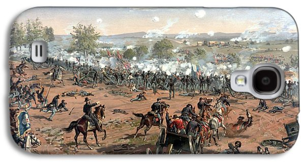 Civil War Galaxy S4 Cases - Battle of Gettysburg Galaxy S4 Case by War Is Hell Store