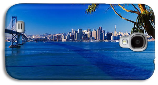 Technological Photographs Galaxy S4 Cases - Bay Bridge & San Francisco Galaxy S4 Case by Panoramic Images