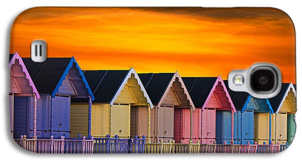 Epic Galaxy S4 Cases - Beach Huts Galaxy S4 Case by Martin Newman