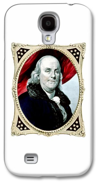 Benjamin Franklin Galaxy S4 Cases - Ben Franklin Galaxy S4 Case by War Is Hell Store