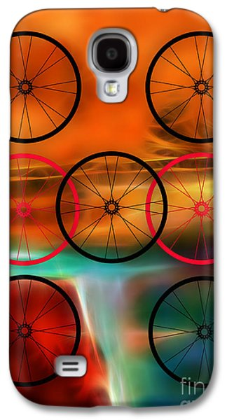 Bicycle Wheel Collection Galaxy S4 Case by Marvin Blaine