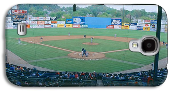 Sports Photographs Galaxy S4 Cases - Bill Meyer Stadium, Aa Southern League Galaxy S4 Case by Panoramic Images