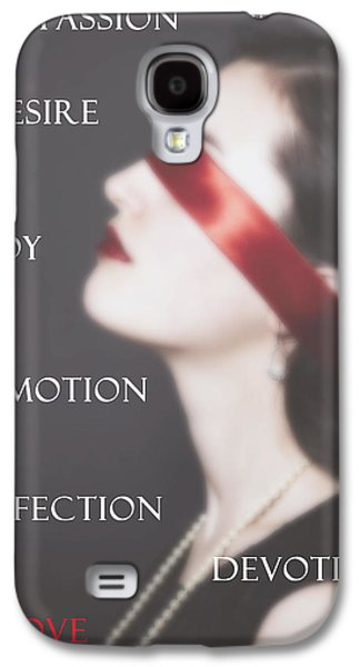 Woman Head Galaxy S4 Cases - Love - Passion - Desire Galaxy S4 Case by Joana Kruse