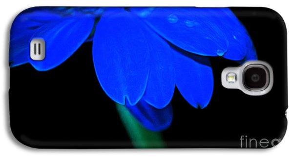 Abstracts Galaxy S4 Cases - Blue Memories Galaxy S4 Case by Krissy Katsimbras