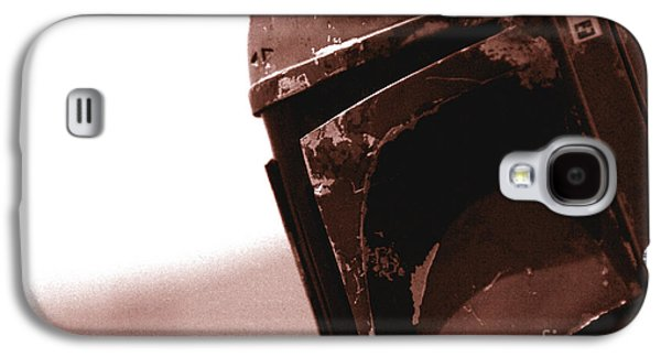 Boba Fett Helmet 32 Galaxy S4 Case by Micah May