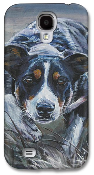 Recently Sold -  - Puppies Galaxy S4 Cases - Border Collie Galaxy S4 Case by Lee Ann Shepard