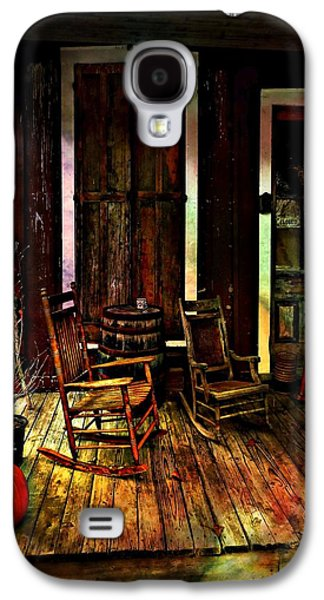 The Country Store Porch Galaxy S4 Case by Julie Dant