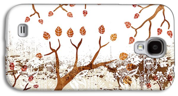 Nature Abstract Galaxy S4 Cases - Branches Galaxy S4 Case by Frank Tschakert