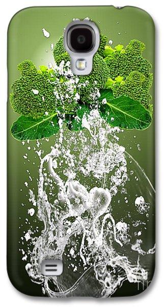 Broccoli Splash Galaxy S4 Case by Marvin Blaine
