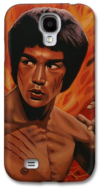 Bruce Lee Enter The Dragon Galaxy S4 Case by Paul Meijering