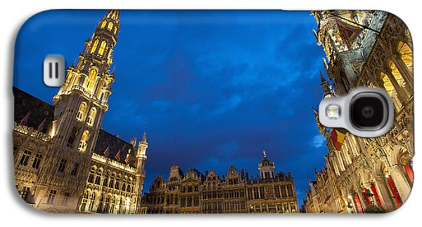 Colour Image Photographs Galaxy S4 Cases - Brussels, Belgium Galaxy S4 Case by Axiom Photographic
