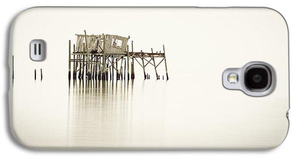 Cedar Key Galaxy S4 Cases - Cedar Key Structure Galaxy S4 Case by Patrick M Lynch