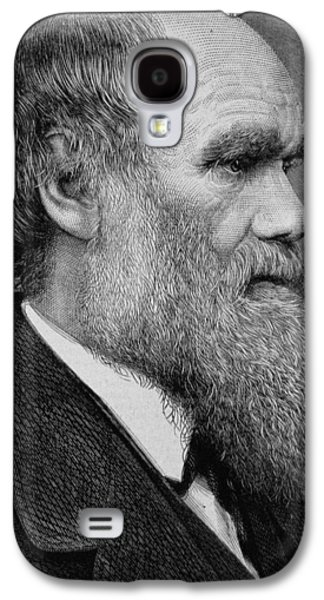 Clever Galaxy S4 Cases - Charles Darwin Galaxy S4 Case by English School