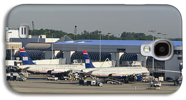 Charlotte Douglas International Airport Terminal Galaxy S4 Case by David Oppenheimer