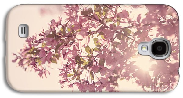 Cherry Blossoms Galaxy S4 Cases - Cherry Blossoms Galaxy S4 Case by Diane Diederich