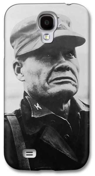 War Paintings Galaxy S4 Cases - Chesty Puller Galaxy S4 Case by War Is Hell Store
