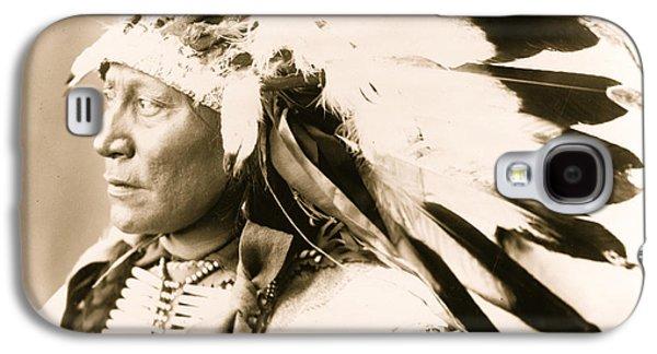 Chief Hollow Horn Bear Galaxy S4 Case by American School